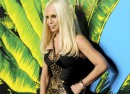 Versace for HM collection launch Donatella Versace