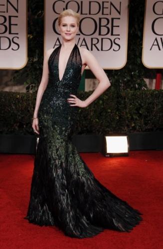 Evan Rachel Wood in Gucci Golden Globes 2012: The Dresses