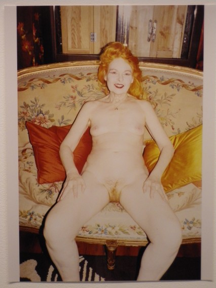 vivienne westwood naked1 NSFW: Vivienne Westwood poses naked for Juergen Teller exhibition
