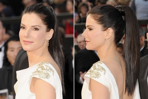 sandra bullock oscars 2012 hair Oscars 2012: The Best Hairstyles