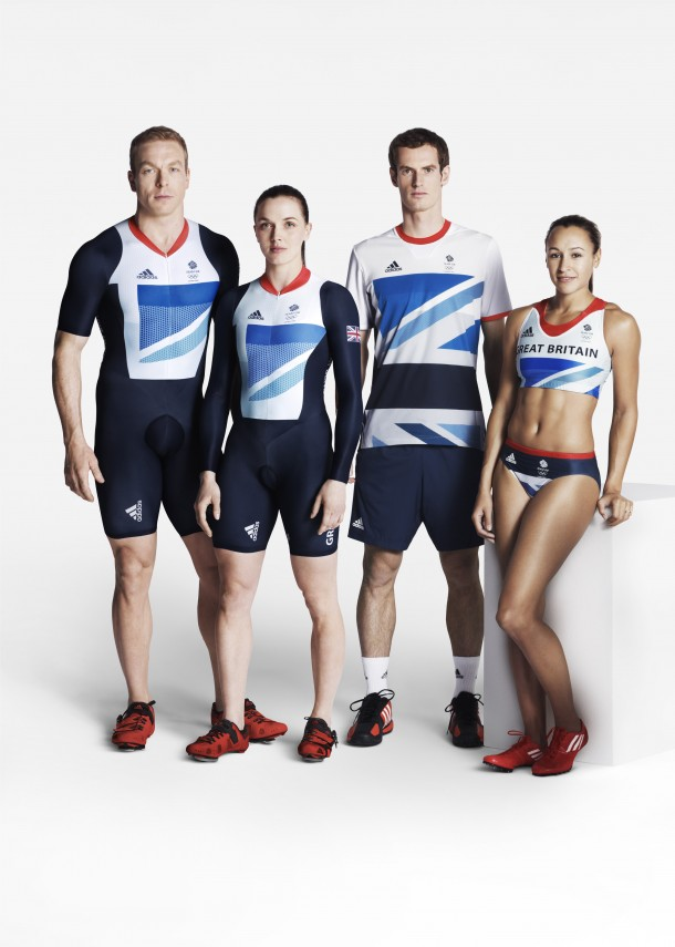 TeamGB Image11 610x855 London Olympics 2012: Stella McCartney designed Team GB kit revealed
