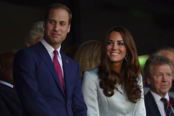 Kate Middleton went for gold