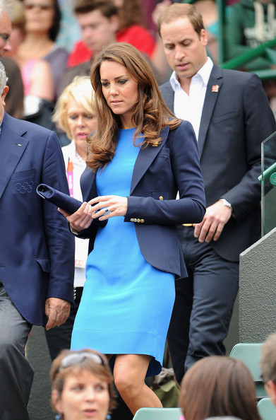 London Olympics 2012: Kate Middleton's Olympic Wardrobe ...