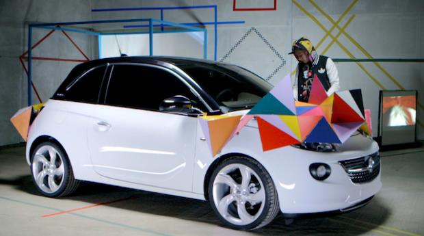 British designers personalise new Vauxhall ADAM