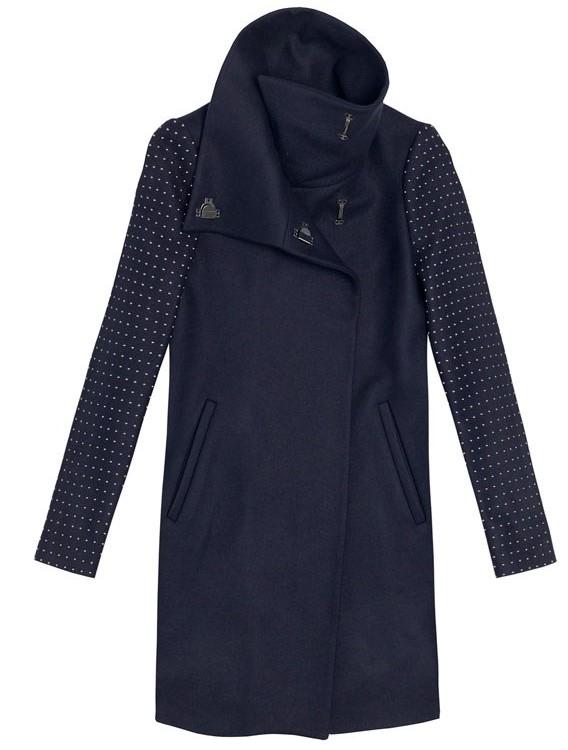 Zara Studded Sleeve Coat e1350299700196 Top 20: Cosy Coats for Autumn/Winter 2012