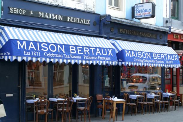 Maison Bertaux 610x406 London's Top 10 Cake Shops & Pâtisseries