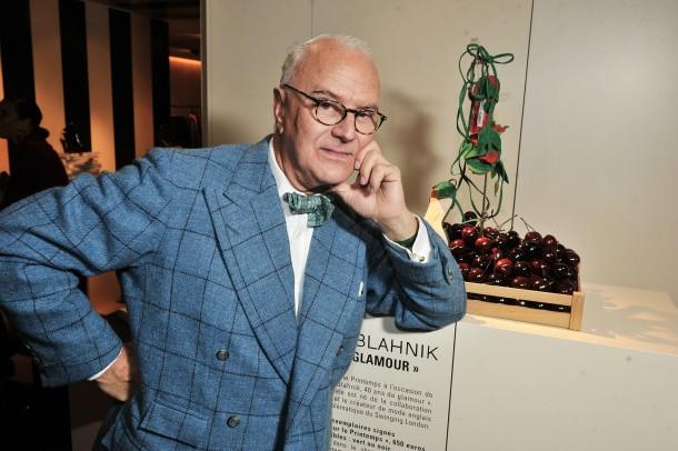Manolo Blahnik london fashion week