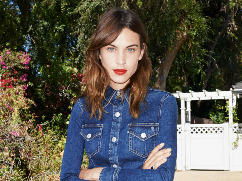 Alexa Chung Collaborates With Ag Jeans Ldnfashion The