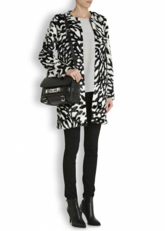 2 - Michael Michael Kors Monochrome Fur Coat £290